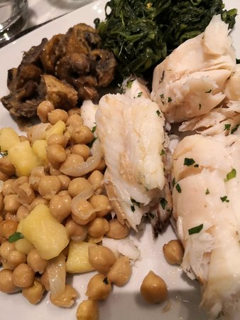 Merluzzo with vegetales