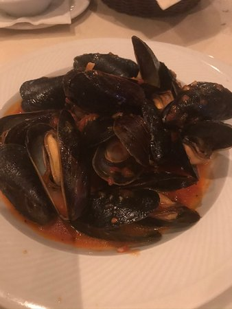 A nice plate of Mussells