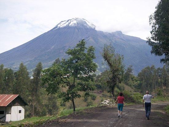 Penipe, Ecuador: Trekking con vista al Tungurahua