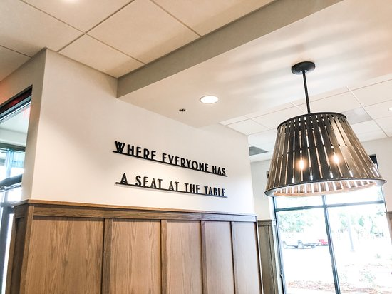 We hope everyone truly feels at home when they walk through the doors of our restaurant.