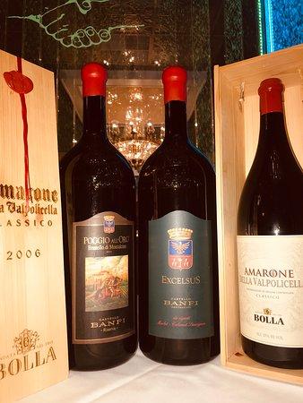 Full extensive wine list