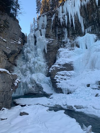 Johnston Canyon Icewalk Resmi
