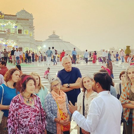 With USA GROUP #VRINDAVANGUIDE WWW.VRINDAVANGUIDE.COM