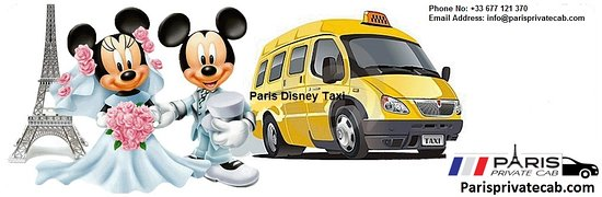 Paris Disneyland Taxi. Save by booking in advance a low cost taxi from Paris to Disneyland. With fixed costs and prices @ https://www.parisprivatecab.com/