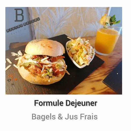 BAGELS & SALADES FRAICHEURS pour Déjeuner