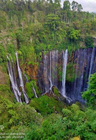Tumpak sewu From Location Panorama.