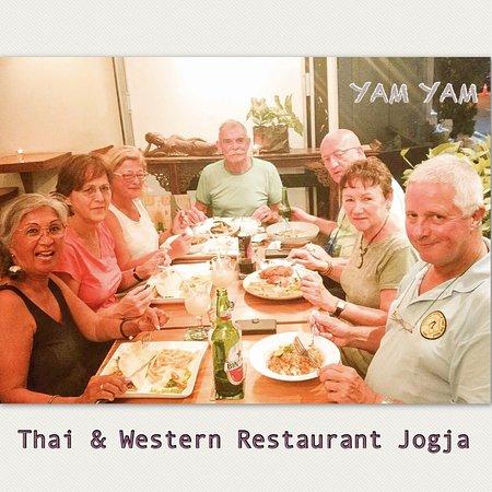 Good Food brings people together at YAM YAM Thai & Western Restaurant Yogyakarta #foodpotography #instafood #kulinerjogja #jogjacarimakan #jogjafoodhunter #jogjacurinary #thebestintown #jogja24jam #prawirotaman #makanenakjogja #makanjogja #restaurantjogja #restaurantyogyakarta #thairestaurantjogja #thairestaurantyogyakarta #makananthailandjogja #yamyamrestaurantjogja #yamyamjogja #yamyamyogyakarta #thaifoodjogja #yogyakuliner#vegetarianJogja #glutenfreejogja#halaljogja
