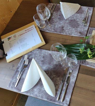 Obergesteln, Schweiz: Restaurant