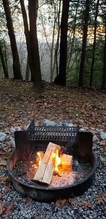 South Bloomingville, OH: Campfire