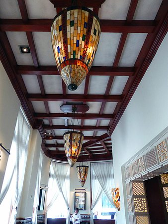 Decorative Ceiling With Stained Glass Ceiling Lights Picture Of Saratoga Hotel Havana Tripadvisor