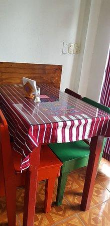 Todos Santos, גואטמלה: Table setting