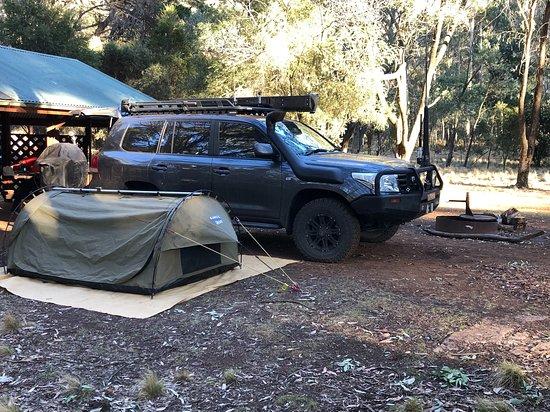 Coolah, Australia: Camping at the Barracks