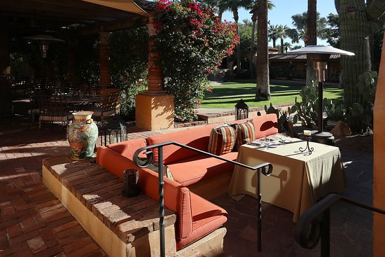T. Cook's at the Royal Palms Resort & Spa, 5200 E Camelback Rd, Phoenix, AZ - Al Fresco Dining Area