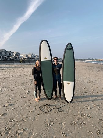 Surfing at our Long Beach location!