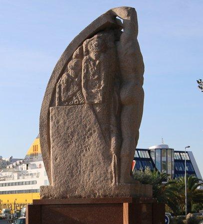 Monument de la résistance à Bastia