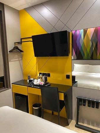 Nice hotel, good location, small room