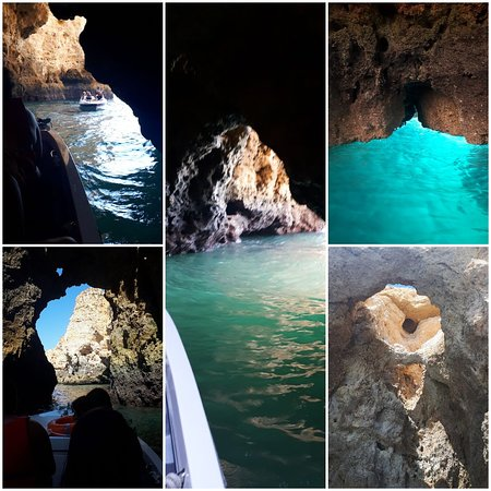 Grottos Ponta da Piedade Lagos