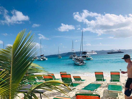 Foto de BVI Snorkel, baños en Virgin Gorda y Cooper Island Beach Club