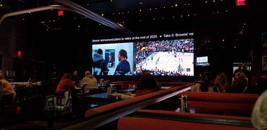 Largest split screen TVs I have seen