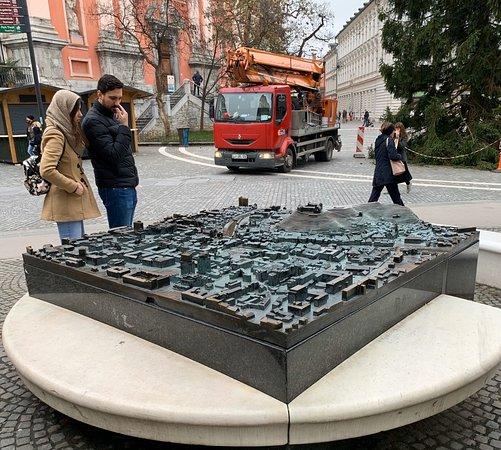 The City Model of Ljubljana