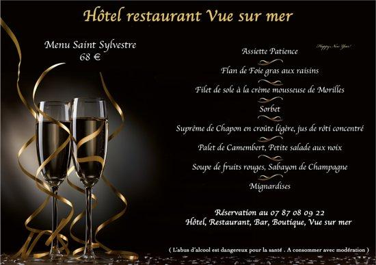 Pourville-sur-Mer, Fransa: Voici ce qu'a concocté notre Chef André Jumel....