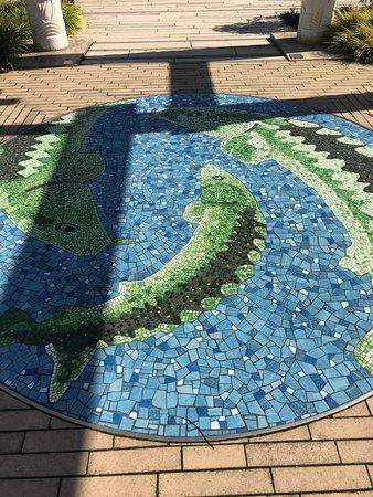 Garden of Surging Waves: Mosaic