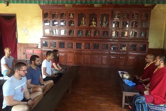 yoga & meditation retreat with monks
