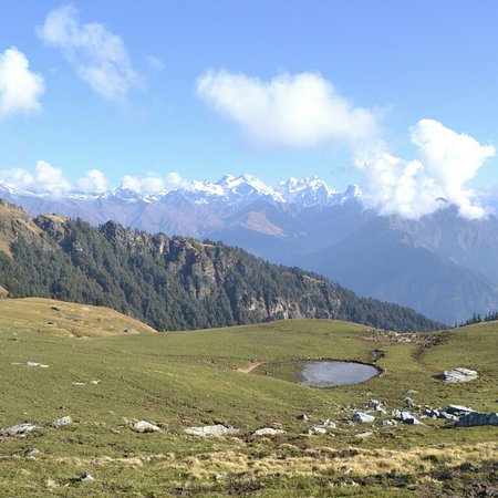Gopeshwar, Индия: Rudarnath trek Approx 24km  #comping #trekking  If you fan trek this place please contact me 9758917328