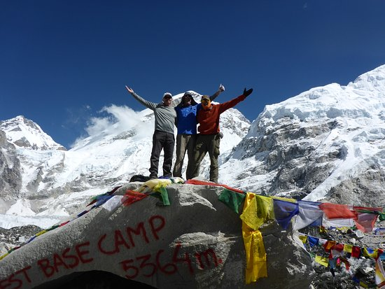 Everest Base Camp Trek: At the top of the world!