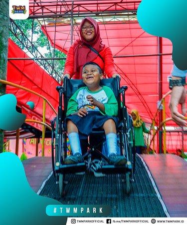 TWM Park ramah disabilitas