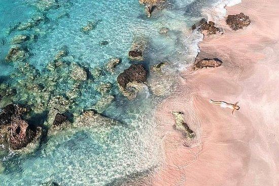 Escape idílico da praia de Elafonissi...