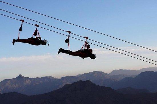 Ras Al Khaimah Zipline Adventure desde Dubai: Ras Al Khaimah Zipline Adventure from Dubai