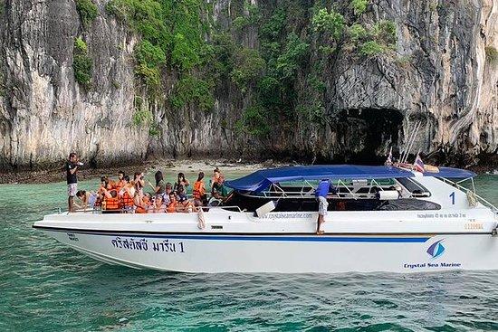 Phi Phi Bamboo Tour per speedboot
