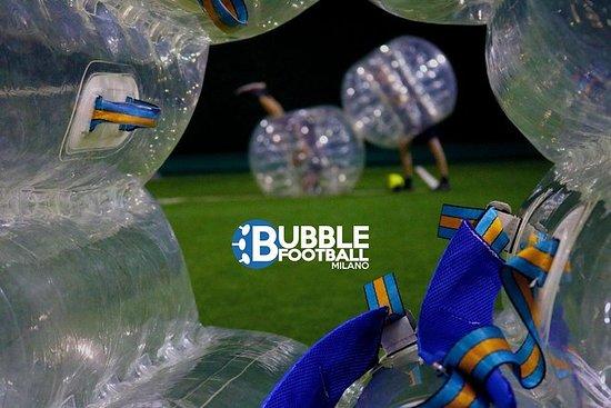 Bubble voetbal in Milaan