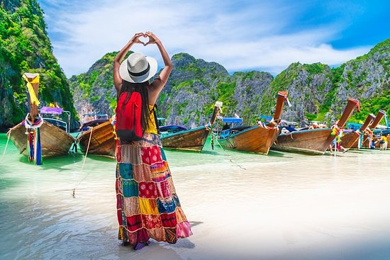 Full-Day Phuket: Phi Phi, Maya, Bamboo ...