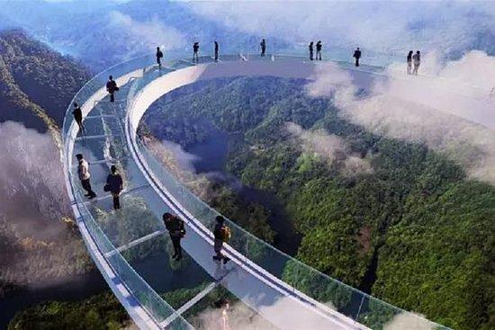 Keizer Hill wandelen en Huangteng Gorge ...