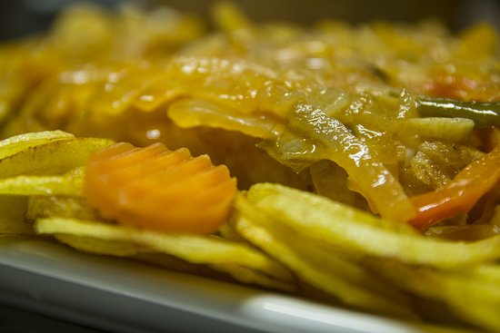 Santa Leocadia, Portugal: Bacalhau de Cebolada