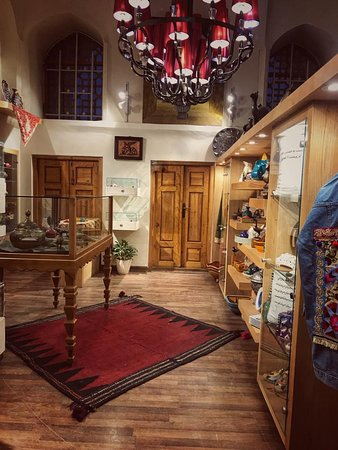 A lovely small gift shop full of handicrafts and souvenirs you may want yo purchase