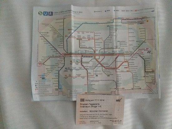 Mvv tageskarte Tageskarte