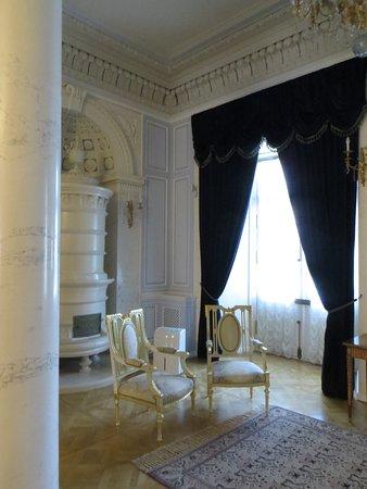 интерьеры замка в мужской половине