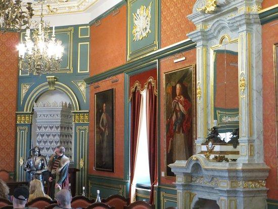 в замке популярны сцены исторической реконструкции