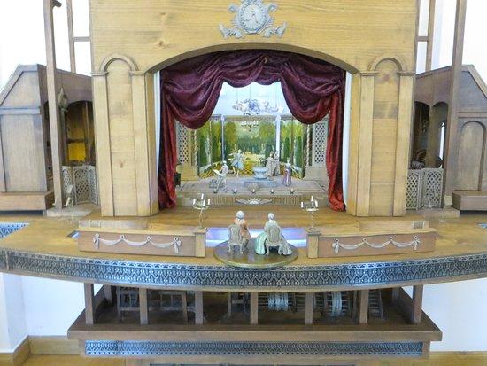макет замкового театра