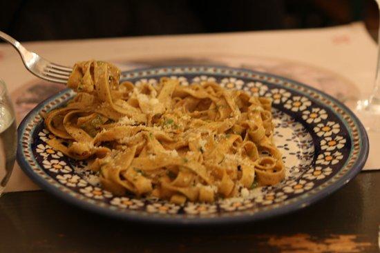 pasta with white truffel