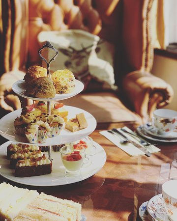 Classic afternoon tea available by booking 24 hours in advance