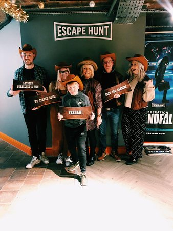 Wild West Escape room