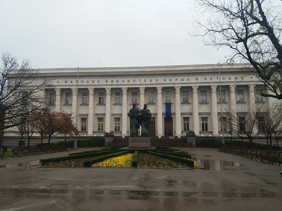 Natsionalna Biblioteka Sveti Sveti Kiril i Metodii