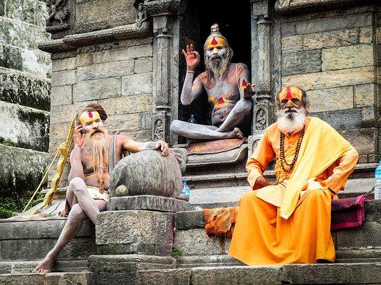 Famous sadhu of Nepal: fotografía de Kerala, India - Tripadvisor