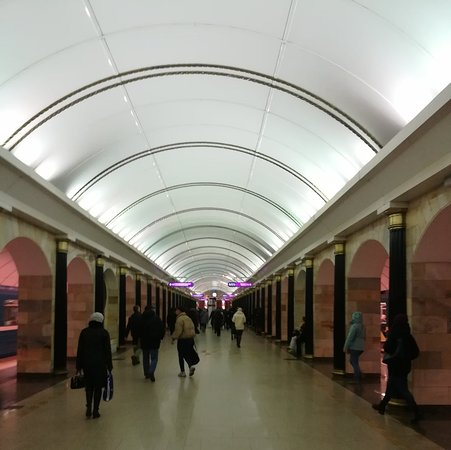 Admiralteyskaya Station