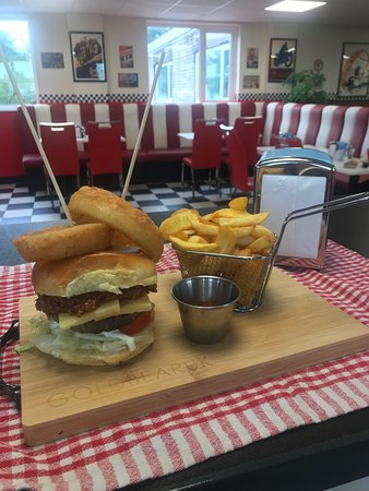 We have a range of burgers on the menu, from a Cheeseburger to one of our famous Harley Burgers! Check our menu to see whats on!!