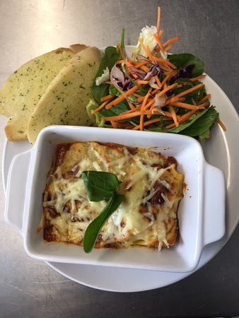 Here's one of our Daily specials. This being Thursdays Lasagne!! Our daily specials are updated weekly so check our Facebook on a Monday for the latest specials.